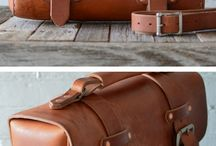 Leather bags man