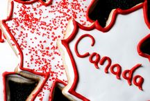 Holidays! / Oh Canada! We like to celebrate the 'little' holidays as much as the 'big' ones!