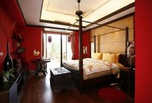 30 Beautiful Red Bedroom Design
