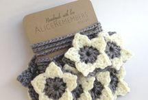 crochet garland / crochet garland かぎ針編みのガーランド