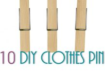 Clothes Pin Crafts