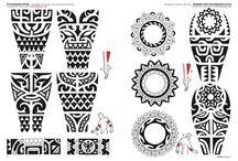polynesische Tätowierungen