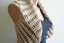 Crochet * Vest, Cardigan, Shrug