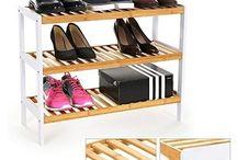 Wooden Shoe Rack Storage Cabinet
