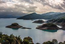 Lake / http://greece-lifetravel.blogspot.gr Lakes in Greece