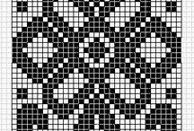 vzory a strihy