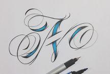 Tatouage lettre