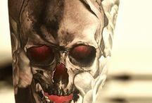 skull tattoos / by Bruce Meyers