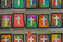 Painted crosses