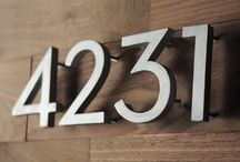 Curb Appeal / Signboards & numbers everything that you can add as an accessory to enhance the Curb Appeal of your home.