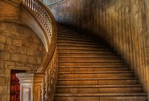 Staircases and Fireplaces / by Stephanie Williams