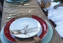 Winter tablescape / Betty Crocker Event Casa Palmero Pebble Beach