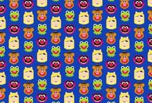 Can We Go To Sesame Street? / Sesame Street Cotton Fabrics and Sewing Ideas