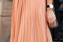 Pleated skirt looks