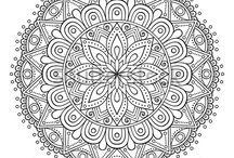 Mandala minták