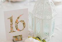 Номера на свадебных столах