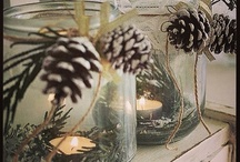 Winter / Inspiration for winter or christmas decoration, cause it doesn't matter how cold it is outside if it'ts warm and cute inside
