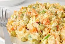 Saláty -Nej. recepty