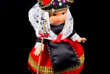 Collectible Dolls from Different Countries / Very nice dolls wearing national costumes of different countries, cities, and regions.