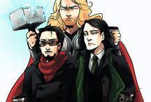 Loki/Stark / Everything FrostIron-y!