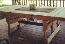 Pallet Furniture / by Debbie Kiker