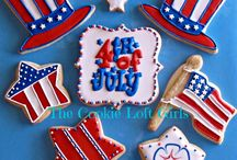 *4th July Cookie Ideas