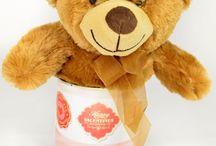 Miłosne puszki, romantyczny pomysł na prezent / Puszka z romantyczną etykietą i wybraną zawartością to świetny pomysł na prezent!