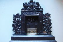 Collectable Miniature Cast Iron Fireplaces