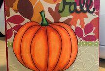 (AH) Cards ~ Pumpkins / Pick a pumpkin, any pumpkin !