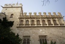 Architecture of Valencia with Tile Of Spain / Beautiful architecture in Valencia with Tile Of Spain