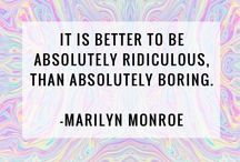 Marlyn Monroe Quotes.