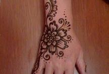 Tattoos, designs & henna / by Linda Fleming