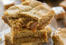 peanut cake caramel