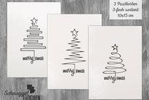 my work: Weihnachtsartikel