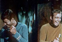 On the set - Star Trek