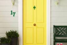 Front Door Ideas/Colors