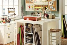 craft room ideas / by Tammy Haubert