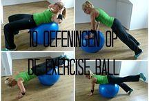 Oefening bal
