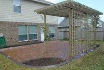 Patio / Lattice wall / by Amber Rottman