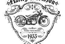 Rogga Harley Print
