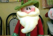 Papá Noel muñeco de Navidad