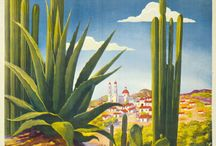 Mexico vintage posters