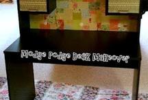 Desk Makeover Ideas