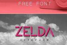 Free & Freeware Fonts