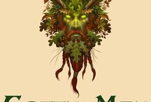 Green Man and Mythical Men / Gorgeous Green Men and Mythical Men