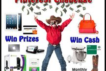 Giveaway Bandit / Giveaways, contests, sweepstakes and family friendly product reviews. / by Melanie Kampman