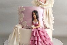 Cute girl cakes