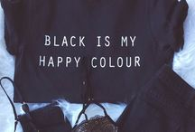 Black is my happy color⚫️