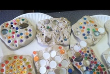 Children's Art - Pottery, Clay, Glass, and Concrete