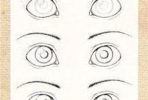 porcelana y ojos